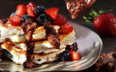 Heute haben wir ein leckeres Rezept für NEOH Double Choc Pancakes für euch