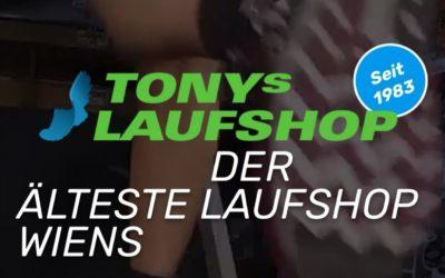 Ein herzliches Dankeschön an Tonys Laufshop