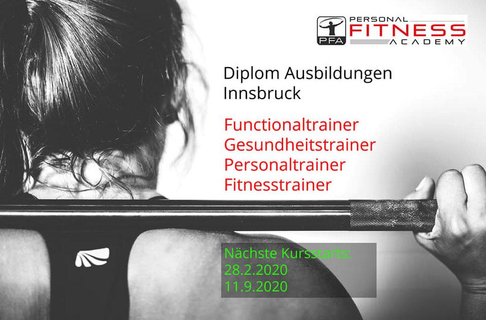 Die neuen Kurstermine 2020 in Innsbruck